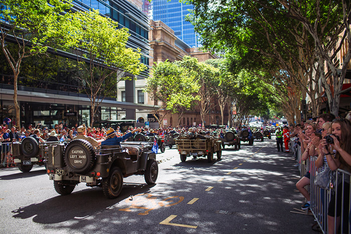 What date is veterans day in Brisbane