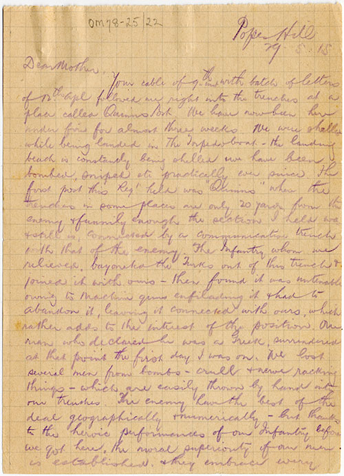 Personal Letter S Written During The Civil War