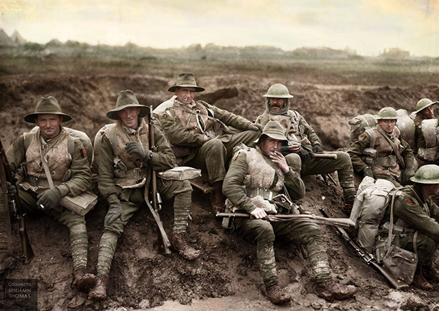 war on the western front While the british, french and german armies struggled in the trenches of the western front, the post-war world was being shaped elsewhere.